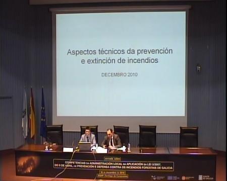 José Carlos Costas López, subdirector xeral de Prevención e Defensa contra os Incendios Forestais. - Xornada: Competencias da Administración Local na aplicación da Lei 3/2007,de 9 abril, de prevención e defensa contra os incendios forestais de Galicia